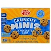 Enjoy Life Foods, Crunchy Minis, Chocolate Chip Individual Snack Packs, 6 Packs, 1 oz (28 g) Each