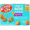 Enjoy Life Foods, Crunchy Mini Cookies, Sugar Crips, 6 Packs, 1 oz (28 g) Each (Discontinued Item)
