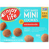 Enjoy Life Foods, Soft Baked Mini Cookies, Snickerdoodle, 6 Snack Packs, 1 oz (28 g) Each
