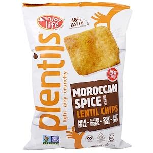 Энджой Лайф фудс, Plentils, Lentil Chips, Moroccan Spice Flavor, 4 oz (113 g) отзывы