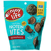 Enjoy Life Foods, Chocolate Protein Bites, Dark Raspberry, 6.4 oz (180 g)