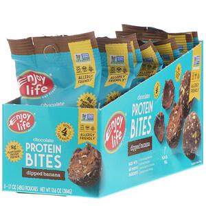 Энджой Лайф фудс, Chocolate Protein Bites, Dipped Banana, 8 Pouches, 1.7 oz (48 g) Each отзывы