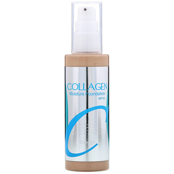 Collagen, Moisture Foundation, SPF 15, #13, 3.38 fl oz (100 ml)