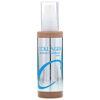 Enough, Colágeno, Base de maquillaje humectante, FPS15, n.º23, 100ml (3,38oz.líq.)