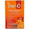 Ener-C, Vitamina C, mezcla de bebida en polvo efervescente, naranja, 30 paquetes, 9,2 oz (260,1 g)