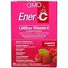 Ener-C, Vitamin C, Effervescent Powdered Drink Mix, Raspberry, 30 Packets, 9.8 oz (277 g)