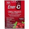 Ener-C, Vitamin C, Effervescent Powdered Drink Mix, Cranberry, 30 Packets, 10.0 oz (282.3 g)