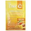 Ener-C, Vitamina C, mezcla para bebida en polvo efervescente, mango y durazno, 30 paquetes, 10.2 oz (289.2 g)