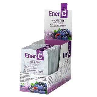 Ener-C, Vitamin C, Multivitamin Drink Mix, Sugar Free, Mixed Berry, 1,000 mg, 30 Packets, 0.2 oz (5.46 g) Each