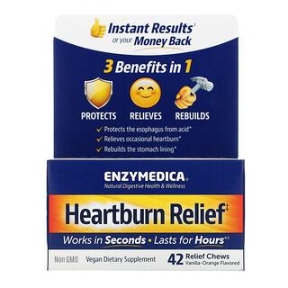 Enzymedica, Heartburn Relief, Vanilla-Orange , 42 Relief Chews