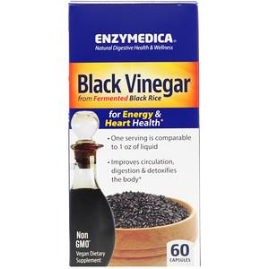 Энзаймедика, Black Vinegar, 60 Capsules отзывы