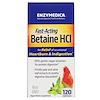 Enzymedica, Betaine HCI, 120 Capsules