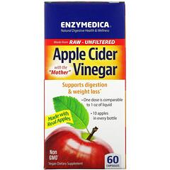 Enzymedica, 蘋果醋,60 粒膠囊