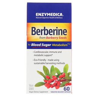 Enzymedica, Berberine, 60 cápsulas