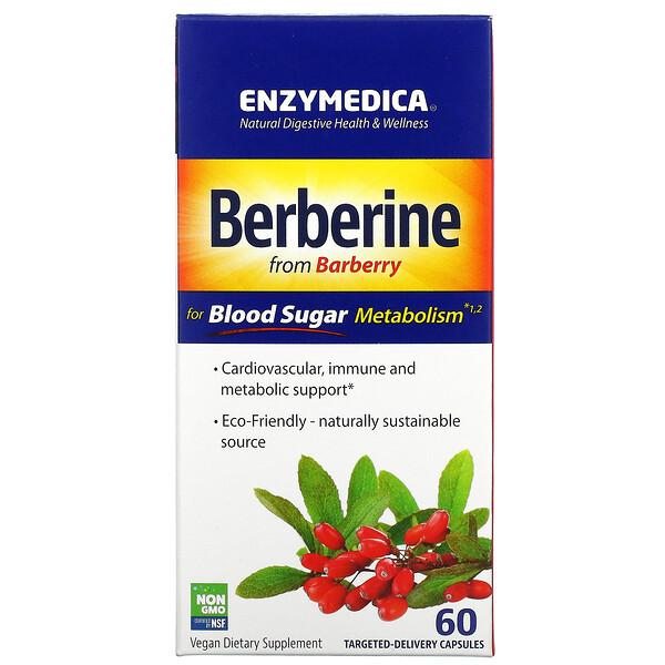 Berberine for Blood Sugar Metabolism, 60 Targeted-Delivery Capsules
