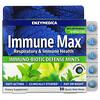 Enzymedica, Immune Max, Immuno-Biotic Defense Mints, Fresh Mint, 30 Quick Melt Mints
