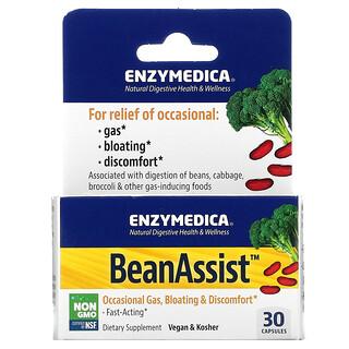 Enzymedica, BeanAssist, 30 정