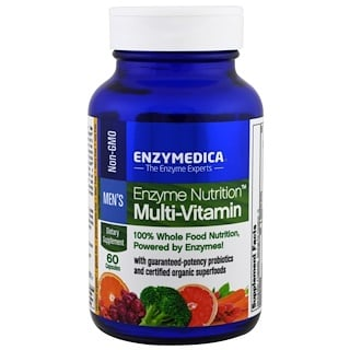 Enzymedica, Enzyme Nutrition Multi-Vitamin, Men's, 60 Capsules
