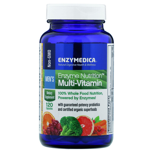 Enzyme Nutrition Multi-Vitamin, Men's, 120 Capsules