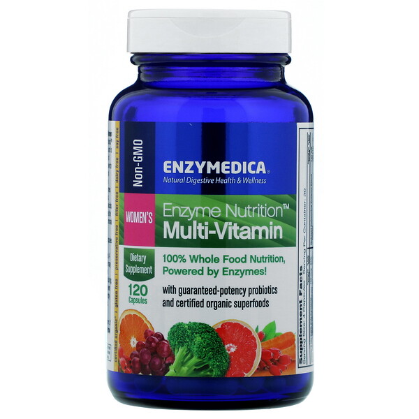 Enzyme Nutrition Multi-Vitamin, Women's, 120 Capsules