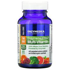 Enzymedica, 酶營養多維生素,每日兩次,60 粒膠囊