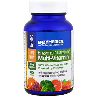 Enzymedica, Enzyme Nutrition Multi-Vitamin, Enzyme und Multivitamine, 60 Kapseln