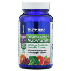 Enzymedica, 酶營養多維素,女性 50+,120 粒膠囊