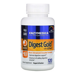 Enzymedica, Digest Gold,含 ATPro,120 粒膠囊