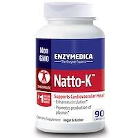Natto-K, для сердечно-сосудистой системы, 90 капсул - фото