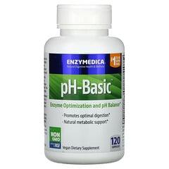 Enzymedica, pH-Basic,120 粒膠囊
