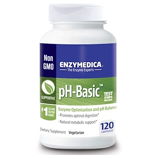Enzymedica, pH-베이직, 120 캡슐