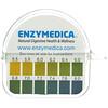 Enzymedica, тест-полоски для определения уровняpH, 16-футовая катушка