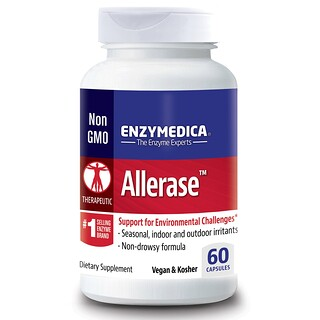 Enzymedica, Allerase, 60 Capsules