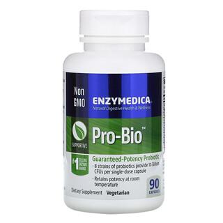 Enzymedica, プロバイオ(Pro-Bio), 効力保証プロバイオティクス, 90カプセル