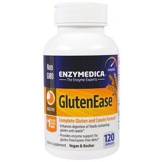 Enzymedica, GlutenEase, 120 Capsules