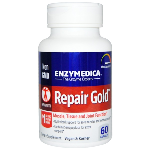 Enzymedica, Repair Gold, 60 Capsules