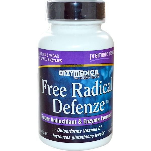 Enzymedica, Защита от свободных радикалов, 60 капсул (Discontinued Item)