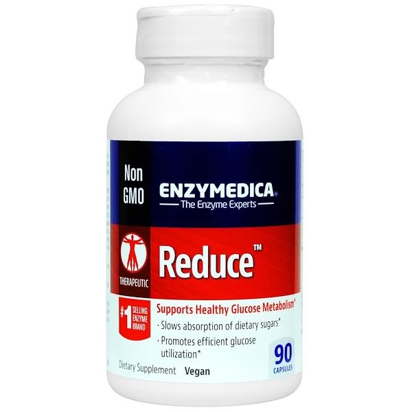 Enzymedica, Reduce, 90 Capsules (Discontinued Item)