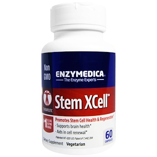 Enzymedica, Stem XCell, 60 Capsules