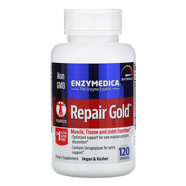 Enzymedica, Repair Gold, 120 כמוסות