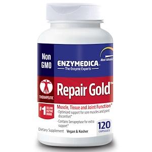 Enzymedica, Repair Gold, 120 капсул инструкция, применение, состав, противопоказания