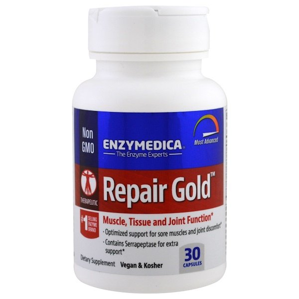 Enzymedica, Repair Gold ، 30 كبسولة