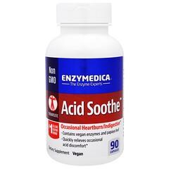 Enzymedica, 酸鎮靜劑,90粒膠囊