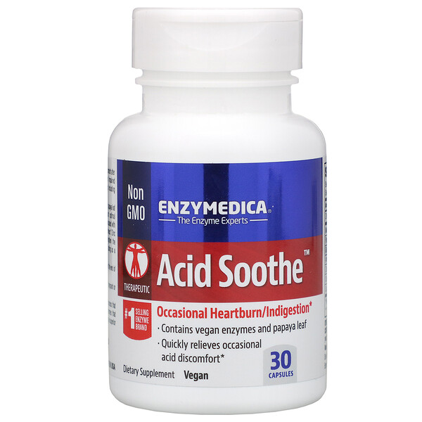 Acid Soothe, 30 Capsules