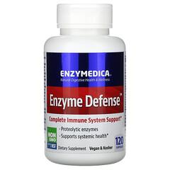 Enzymedica, 酶防禦,120 粒膠囊