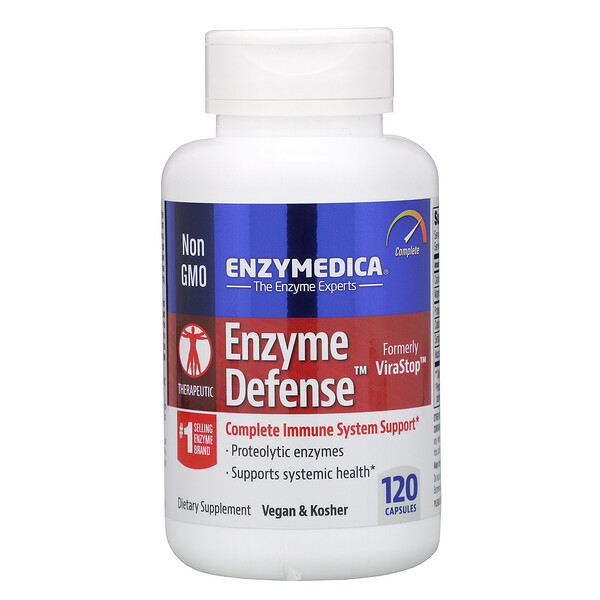 Enzyme Defense, 120 капсул