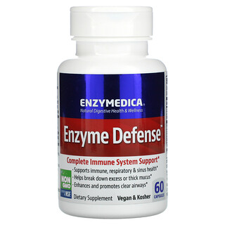 Enzymedica, Enzyme Defense, 60 Capsules