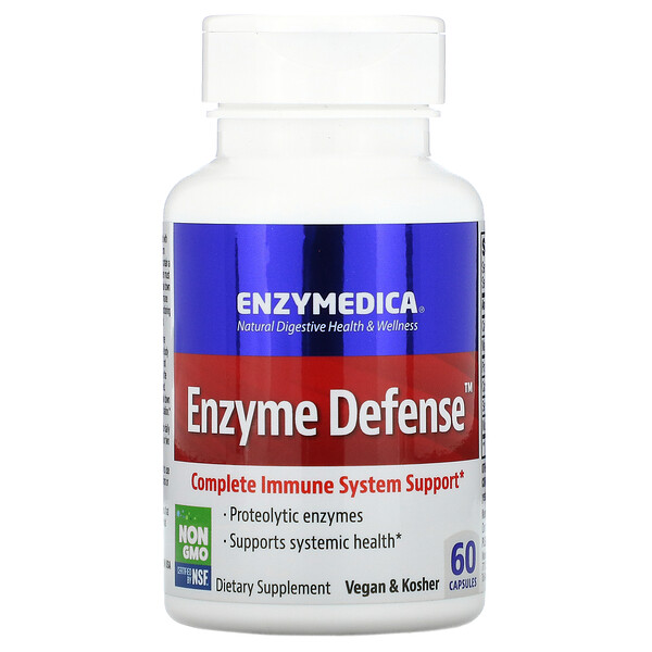 Enzyme Defense, 60 капсул
