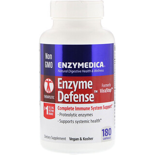 Enzymedica, Enzyme Defense, 180 Capsules