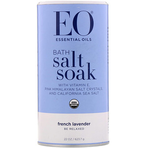 ИО Продактс, Bath Salt & Soak, French Lavender, 22 oz (623.7 g) отзывы покупателей